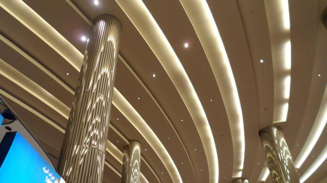 Dubai colunas espelhadas