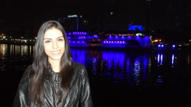 Egito barco noite