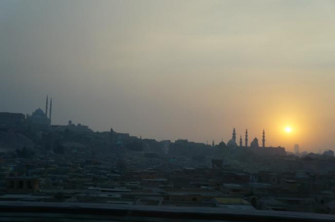 Egito por do sol mesquitas