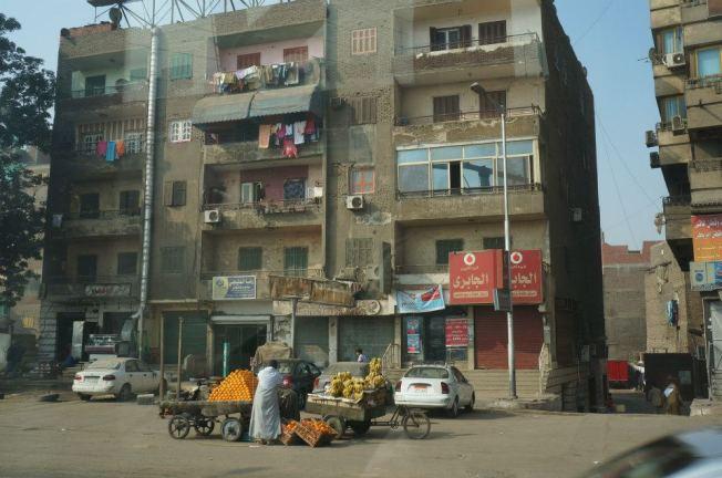 Egito ruas