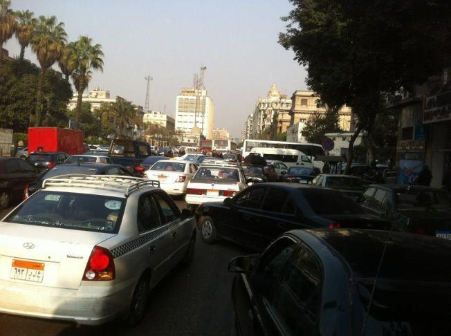 Egito transito 2