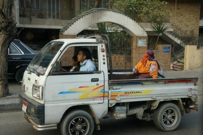 Egito transito