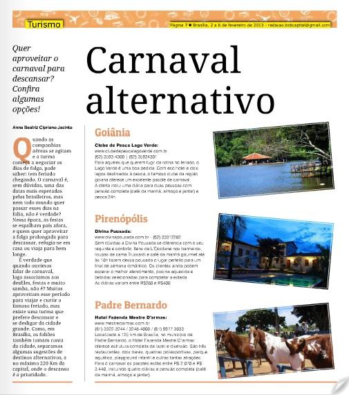 Jornal carnaval