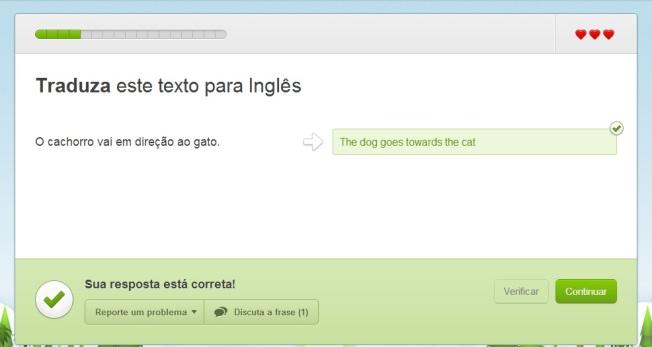 Duolingo Liçao